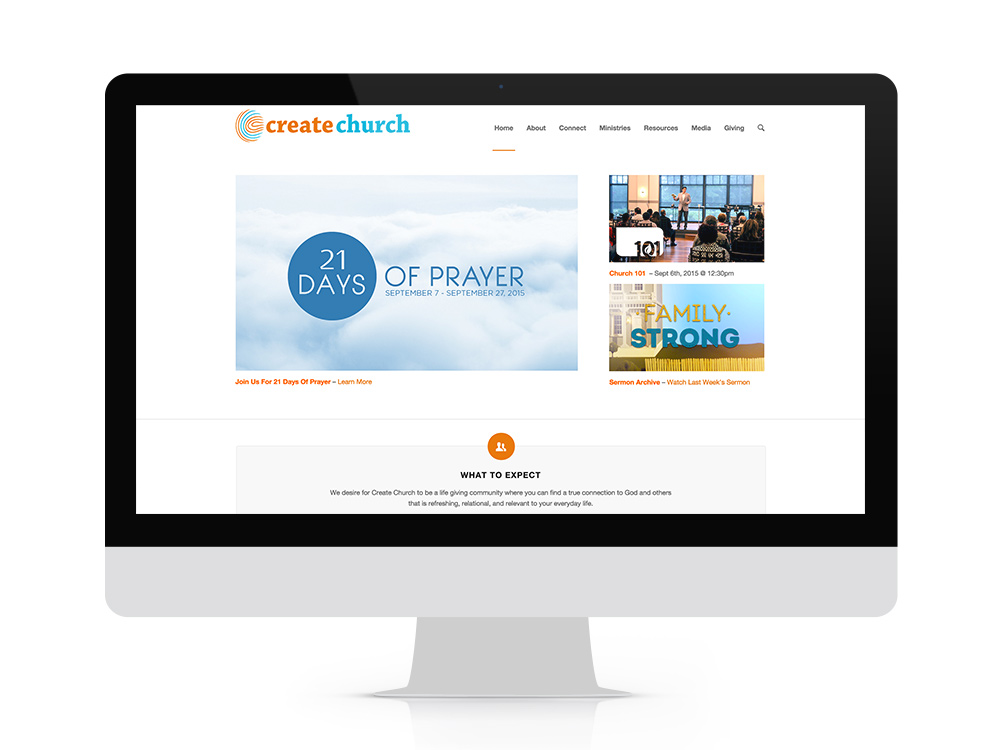 createchurch-website